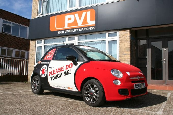 How To Bake The Perfect Red Nose Day Fiat 500 Interactive Wrap Pvl Uk