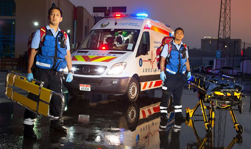 PVL developed and manufactures livery for the ambulance fleets in Abu Dhabi and Qatar.