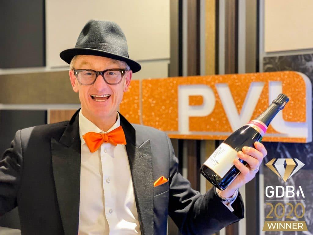 PVL winner at Gatwick Diamond Business Awards