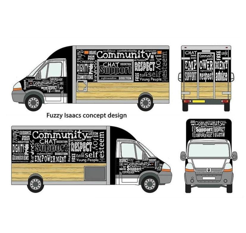 Mobile Community Hub's look
