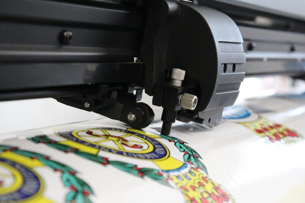 Plotter printing livery